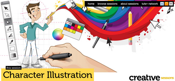Creative web-site design