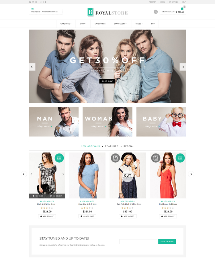 Paypal Ecommerce Store